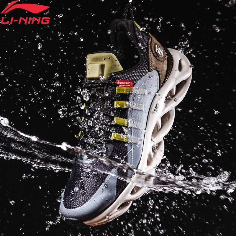 Li-Ning Men LN ARC Cushion Running Shoes Wearable Waterproof LiNing Li Ning WATER SHELL Sport Shoes Sneakers ARHP245 XYP946
