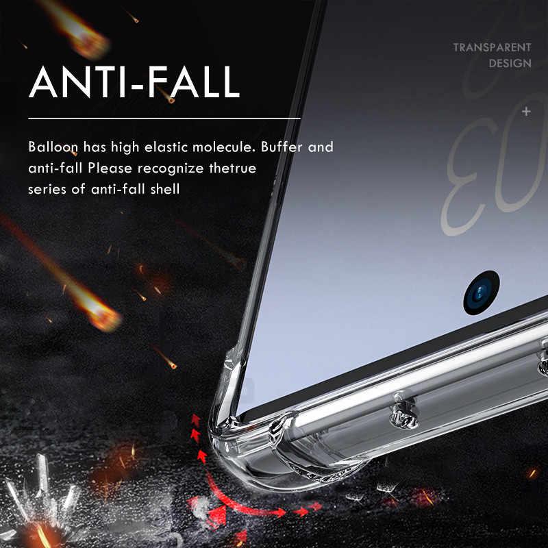 ZNP противоударный силиконовый чехол для телефона samsung Galaxy S8 S9 S10 Plus S10E полная защита чехол для Galaxy Note 10 Plus 9 8 чехол