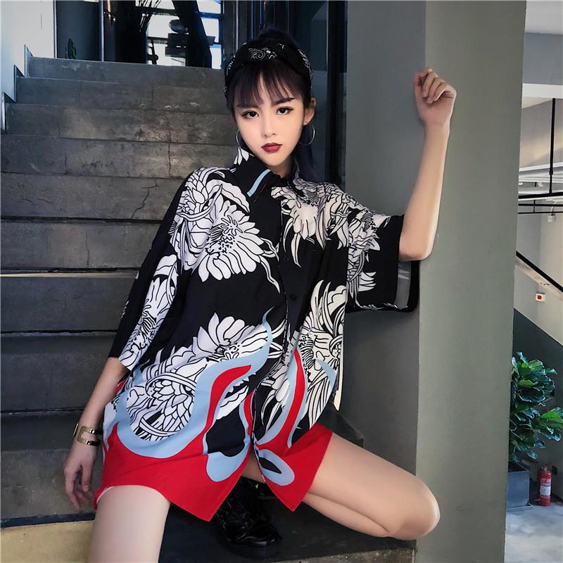 Japanese Kimono Femme T Traditional Cardigan Yukata Kimono Blouse Women 2019 Summer Japanese Dress Traditional Cosplay Hanbok