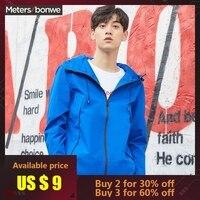 METERSBONWE Autumn Men Jacket Korean Thin Coat Outdoor Air Proof Clothing Youth