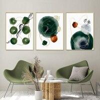Póster de formas abstractas con textura de pincel para pared, pinturas artísticas en lienzo, impresiones de estilo minimalista, decoración Interior para sala de estar