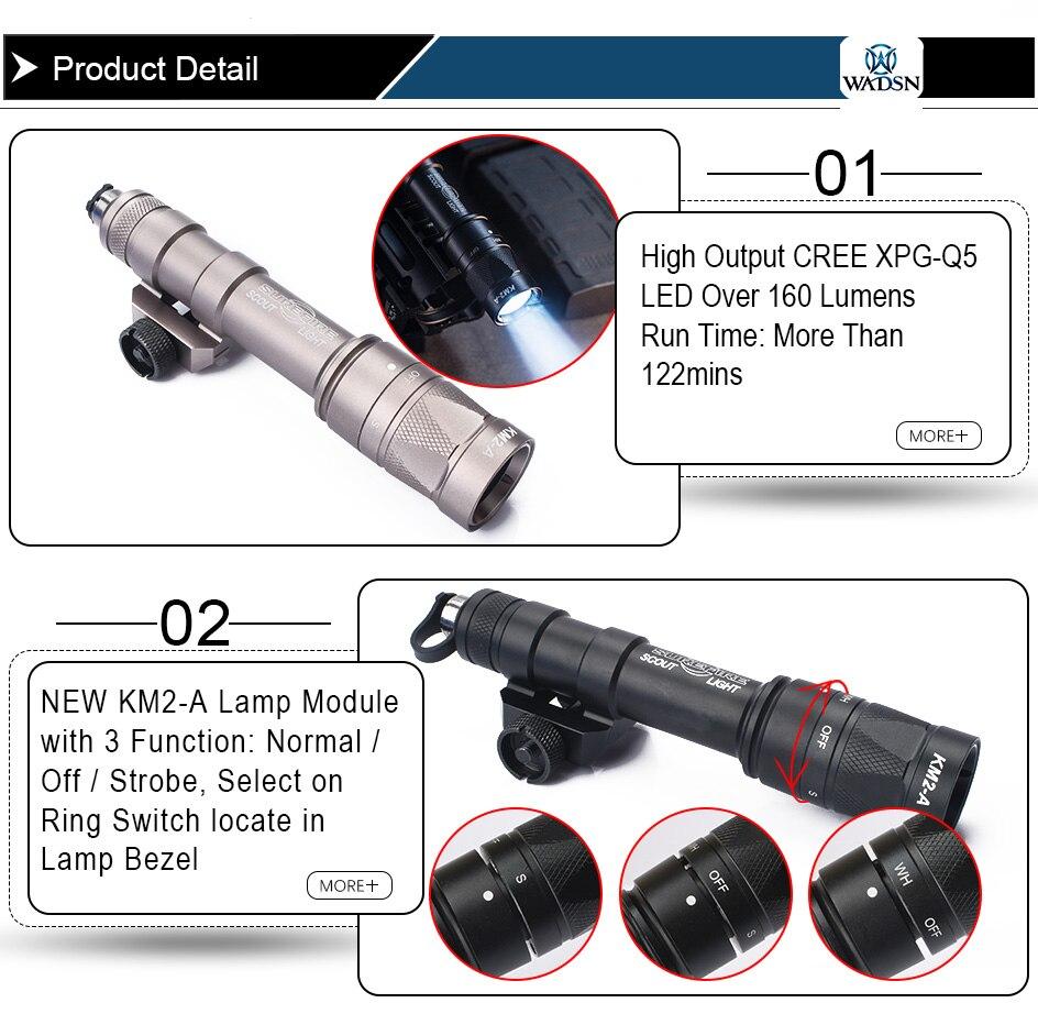 estroboscópio interruptor duplo anel arma luzes wex377