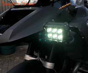 Image 5 - LED Work Light Bars 36w 18w Tractor Fog Offroad Hight Spot Flood Wide Beam Working headlight lamp 12V 24V For Auto Car ATV