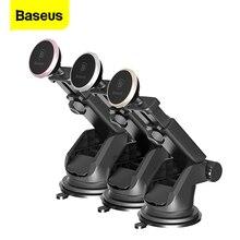 Baseus المغناطيسي حامل هاتف السيارة آيفون 11 برو Xs ماكس تلسكوبي شفط كأس المغناطيس سيارة جبل خلية حامل هاتف المحمول حامل