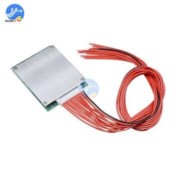 13S 35A 48V Li-Ion Lithium 18650 Accu Bms Pcb Board Pcm Balans Geïntegreerde Schakelingen Board Voor Arduino
