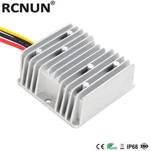 Image 3 - RCNUN 8 36V כדי 12.6V 13.8V 10A שפר באק DC DC ממיר 12V ליתיום עופרת חומצה סוללה מטען כפול סוללה מערכת