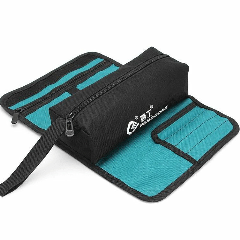 2020 Functional Home Storage Or Organization Small Zipper Tool Bag Pouch Organize Storage Parts Hand Tool Plumber Electrician