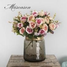 5 вилок, 8 головок, букет камелии, искусственный цветок, европейский стиль, искусственные цветы для свадьбы, домашнего декора, букет невесты