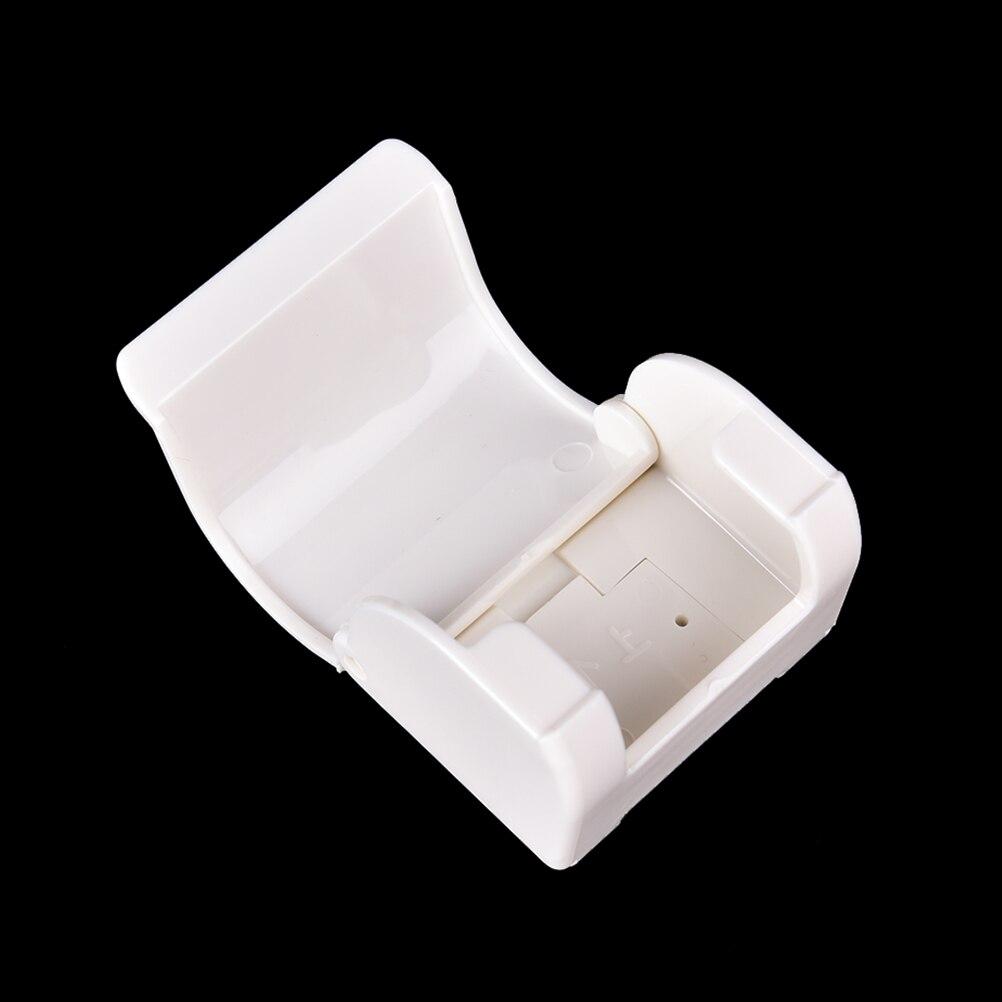 Practical Men Razor Holder Shaver HolderS Wall Mounted Plastic Bathroom Shaver Razor Holder Cupula Shaver Caps Rack