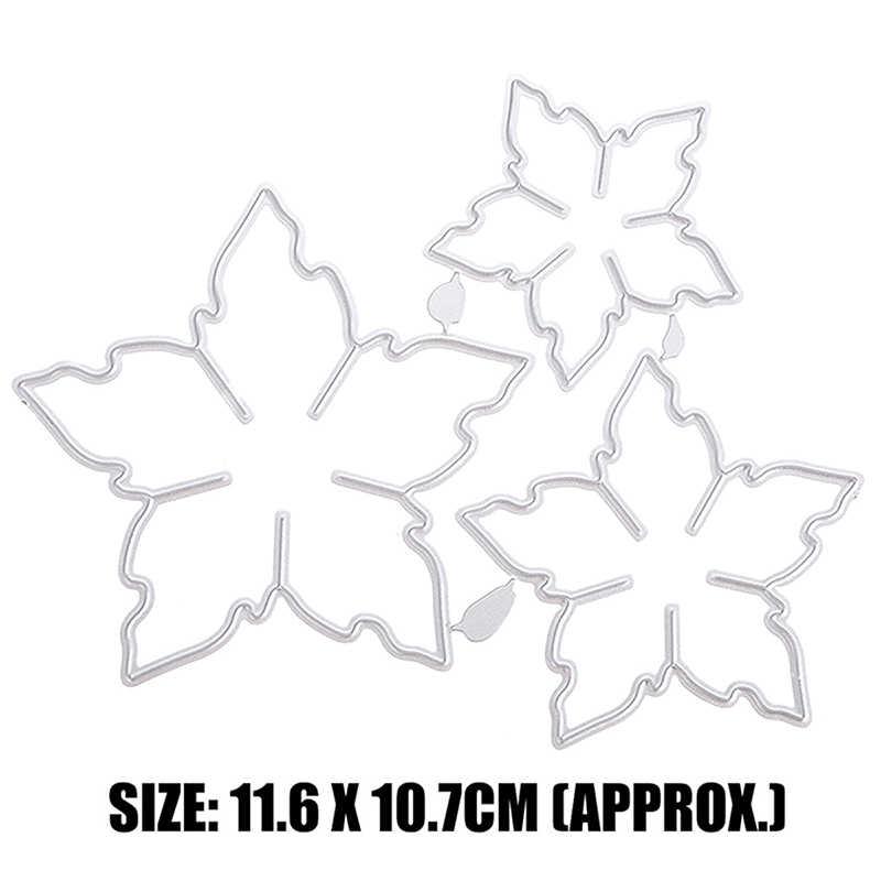 1pc wzór kwiatowy Craft Metal wykrojniki dekoracje Scrapbooking szablon do wycinania papierowa karta albumu szablon do wytłaczania cięcia