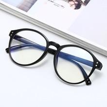 Round Frame Optical Glasses Woman Anti Blue Light Blocking Glasses For Man Vintage Computer Oculos Feminine Gaming Eyewear