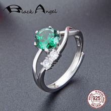Новинка 100% Оригинальные Серебряные Регулируемые кольца с натуральным