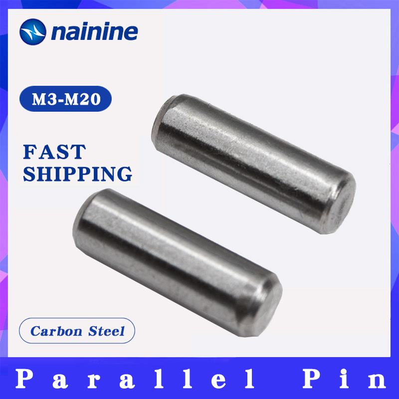 GB119 M3-M20 A3 Carbon Steel Parallel Pins Cylindrical Locating Dowel Pin HW351