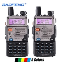 5r uv 2pcs Baofeng UV-5RE מכשיר הקשר Dual Band נייד שני הדרך רדיו חובבים רדיו משדר כף יד Baofeng UV-5R פלוס Walky טוקי (1)