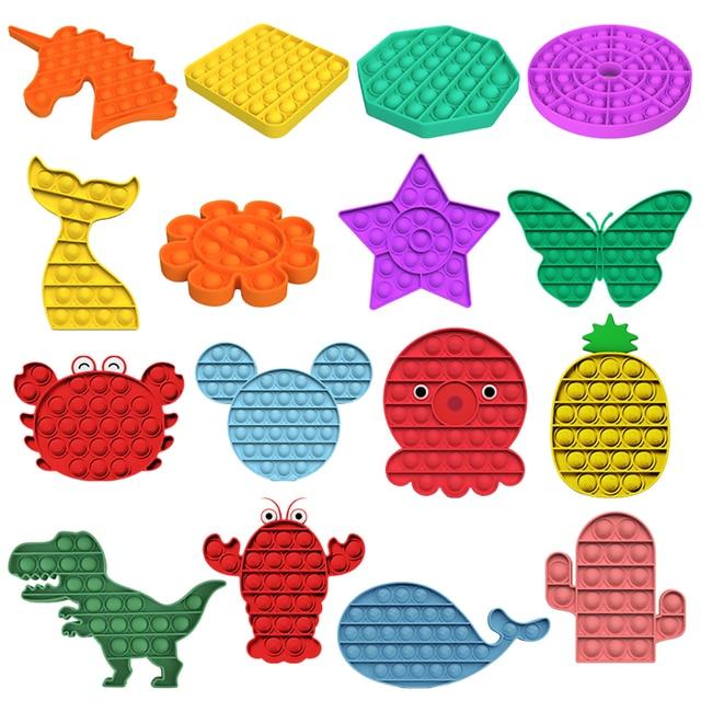 Brinquedo Pop It Fidget Arco-íris 5