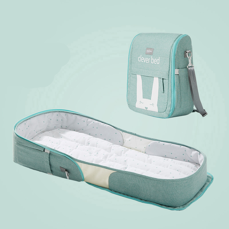 Portable Bed In Bed Baby Crib Multifunctional Foldable Bionic Newborn Bb Bed Anti-pressure Bed Bed