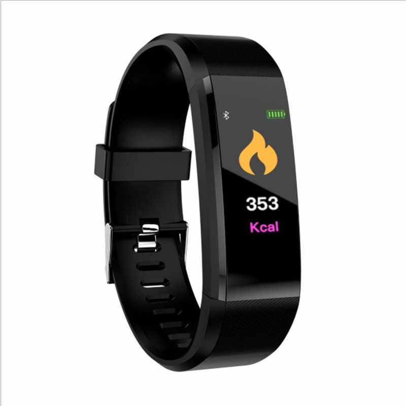Smart Digital Watch for Men Women Smart Wristband Fitness Running Tracker Pressure Sport Watch Heart Rate Monitor Band