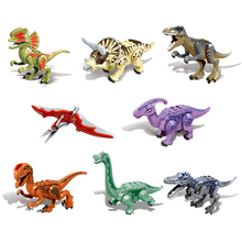 Tyrannosaurus Heavy Claw Dragon Jurassic Dinosaurs World  Baby Figures Building Blocks Kids Toy Compatible