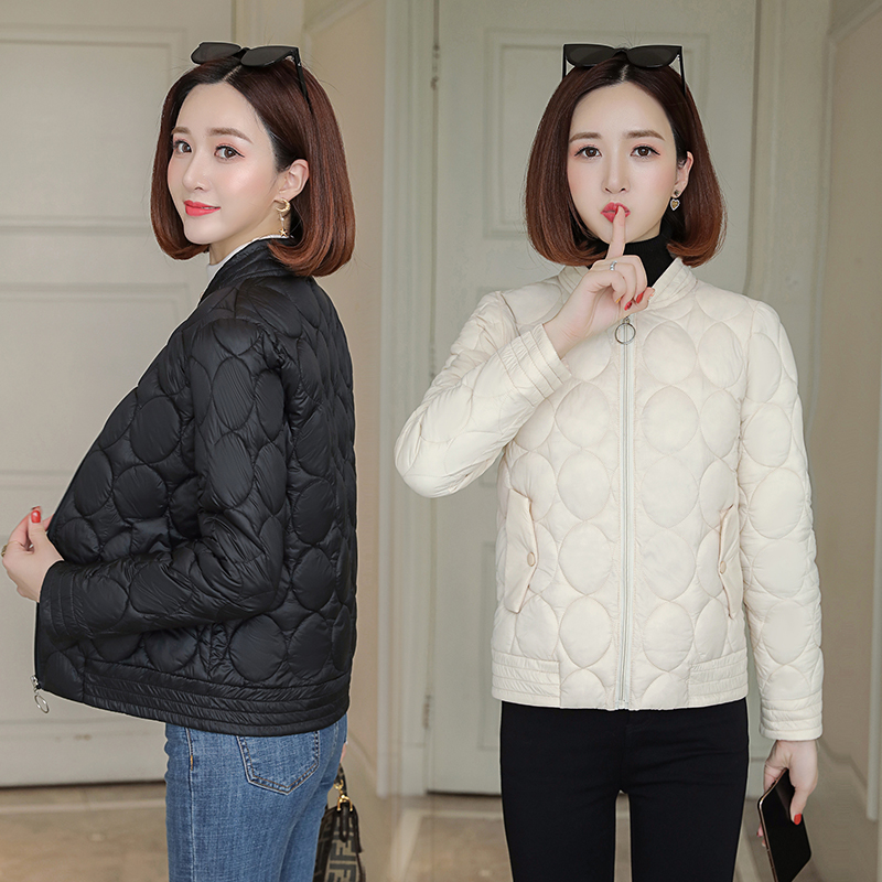 Winter Jacket Coat Outerwear Hooded Zipper Fleece Female Autumn Women New-Fashion Short