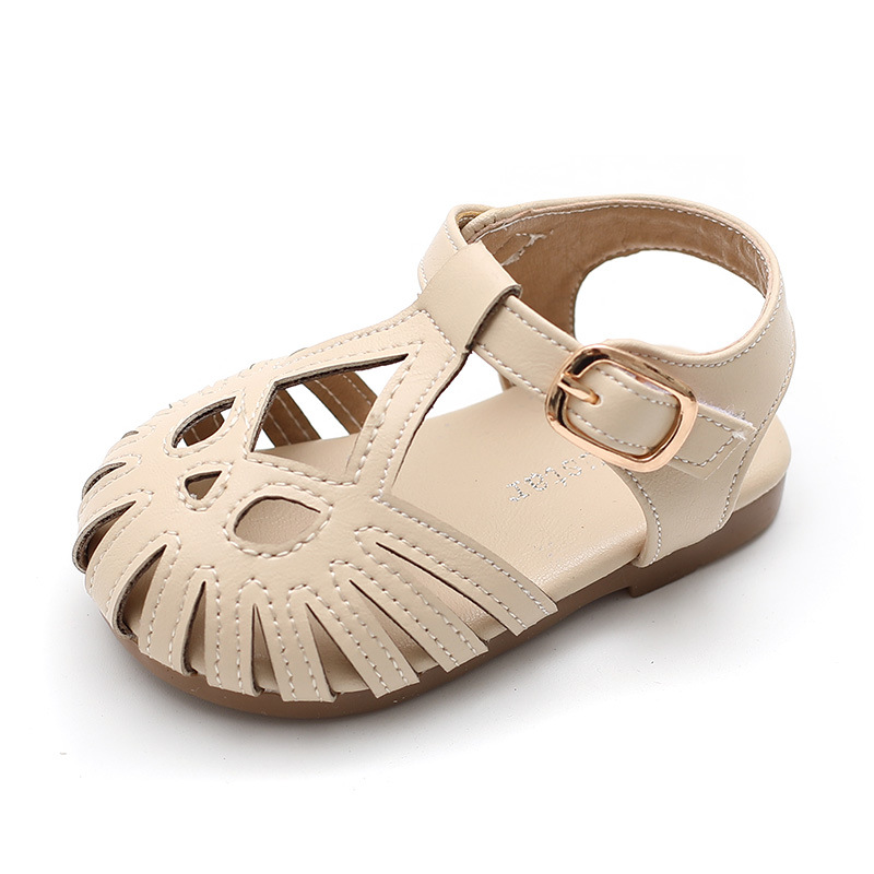 Summer Sandals For Baby Girls Sandals    Toddler Kids Fashion Comfortable First Walkers PU Sandals For The Babys Girls Footwear