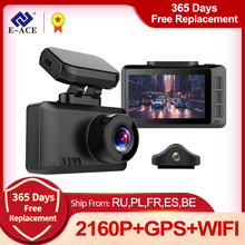 DVR Car-Camera Dashcam Wifi Car E-Ace b44 Sony Imx335 Sensor Night-Vision-Recorder Track