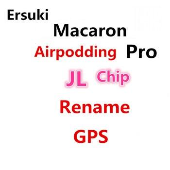 Auriculares inalámbricos Macaron Airpodding Pro 3 TWS 11 auricular Bluetooth auriculares nombre GPS PK Pro2 i90000 i12 para iPhone Android