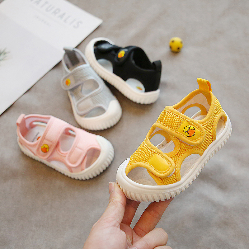 2021 Baby Summer Shoes 1-6 Years Kids Toddler Sandals  Girls Boys Beach Shoes Infant Shoes Little Kids Child Sandals Size 21-30
