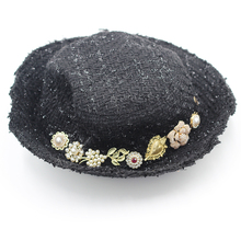 Hat Ladies Part-Hat Flowers Rhinestone Colored Fashion And Casual 855 Birds Palace-Style