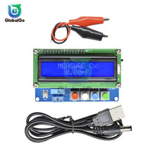 Digital Capacitor Capacitance Meter LC100-A LCD Backlight Screen Inductance Tester Mini Usb Cable Alligator Crocodile Clips Wire holdpeak digital capacitance meter capacitor electronic capacitance tester diagnostic tool with lcd backlight