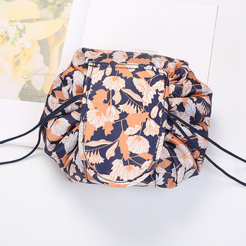 New color lazy makeup bag drawstring storage bag portable travel storage cosmetic bag
