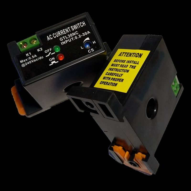 Индукционный переключатель направляющего тока ~ 240 В 0,2-30A индуктор тока обнаруживает трансформатор тока NO NC CT