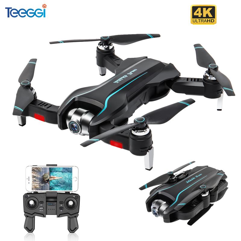 S17 RC Drone With 4K Adjustable Wide-Angle Camera Foldable Quadcopter Optical Flow Dron RC Helicopter VS SG901 SG106 XS816