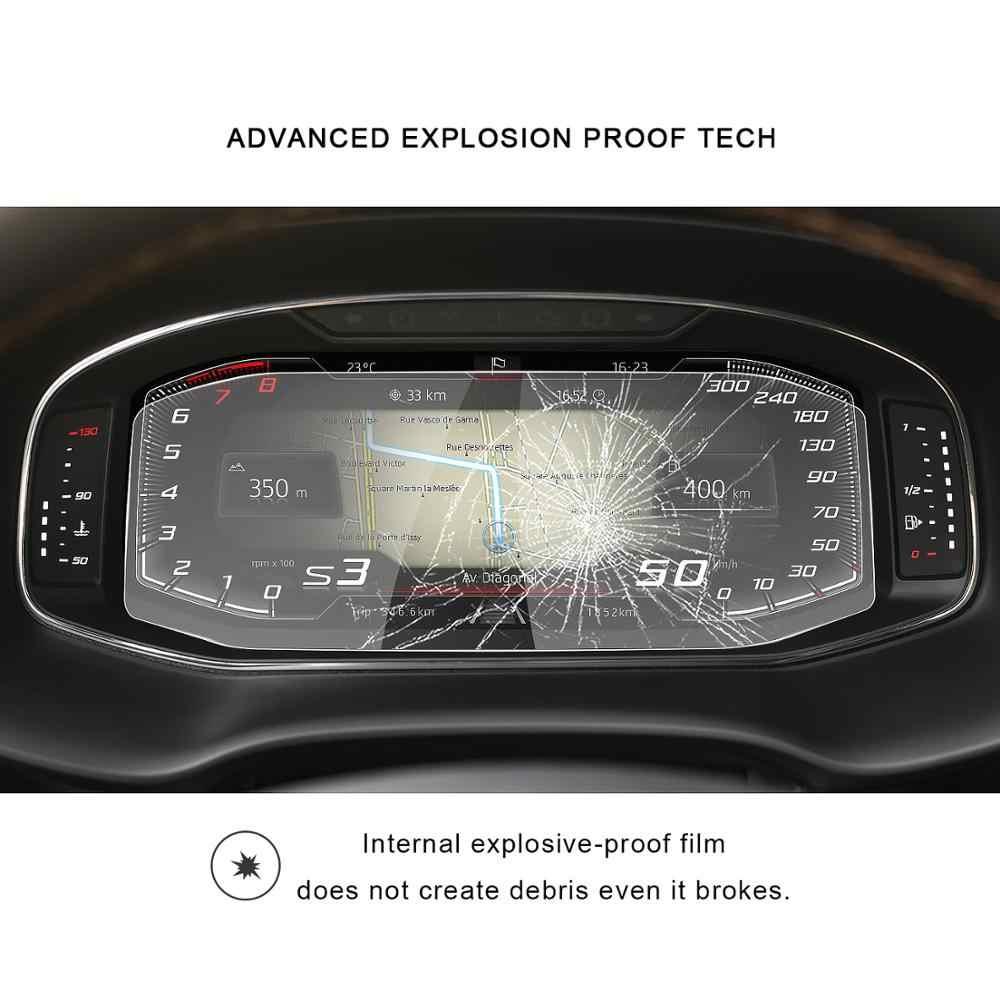 Ochraniacz ekranu samochodu RUIYA do ekranu LCD CUPRA Ateca/Tarraco/Arona/Ibiza 2019 2020 akcesoria do wnętrz samochodowych