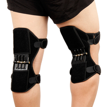 Spring Knee Booster Removable Adjustable Support Pad Sleeve