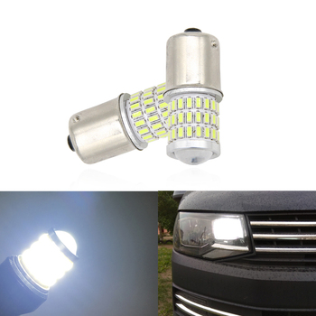 2x 1156 CANbus BA15S/P21W S25 Led Daytime Running Lights DRL Bulbs For T5 T6 Transporter Daylights Car-Styling image