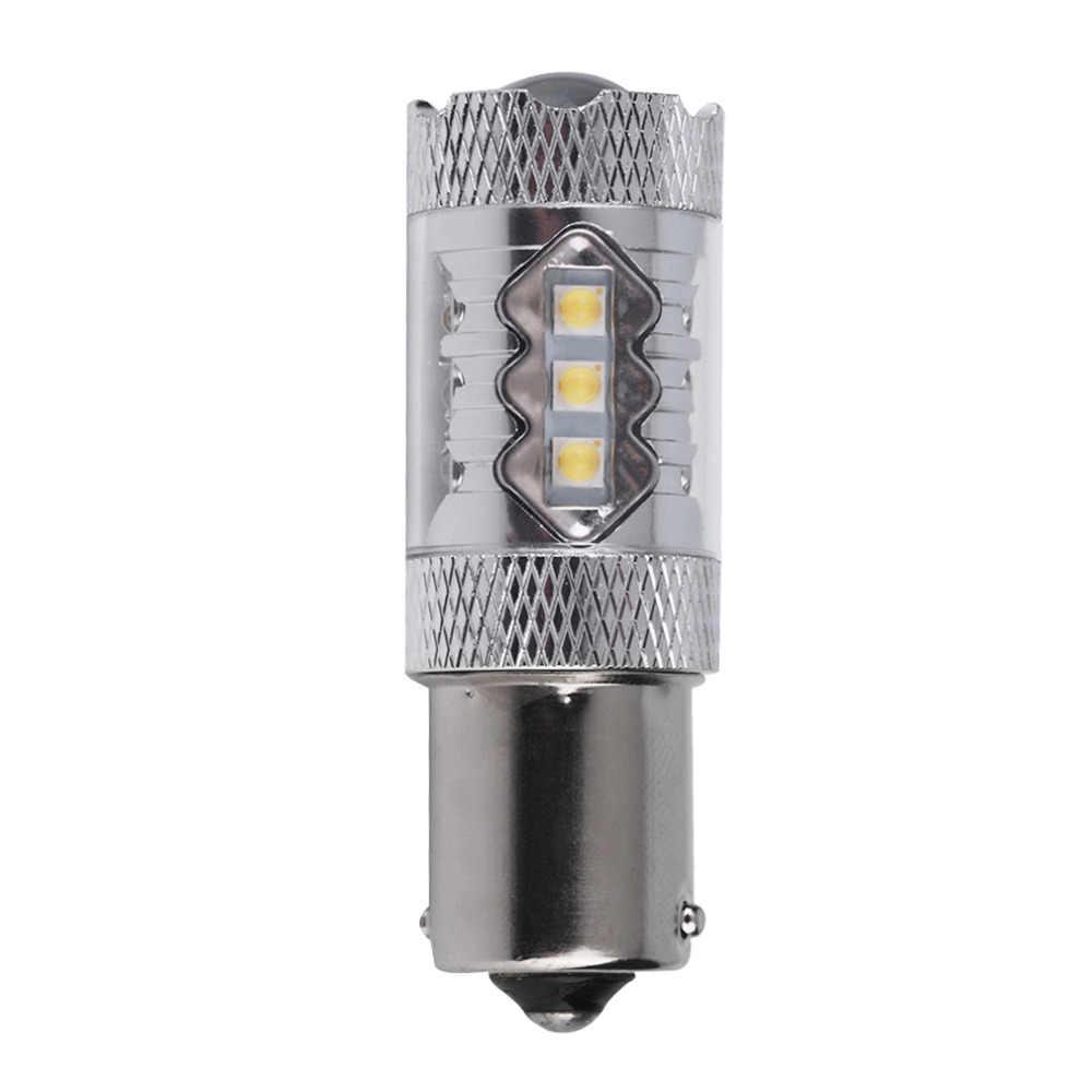NewBest prix 1156 BA15S 1141 80W haute puissance pour HID blanc LED voiture tour de secours inverse antibrouillard lampe ampoule DC12V