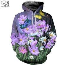 Plstar cosmos 3dprint animal borboleta colorido newfashion unisex homem/mulher harajuku streetwear engraçado hoodies/moletom/zip a22
