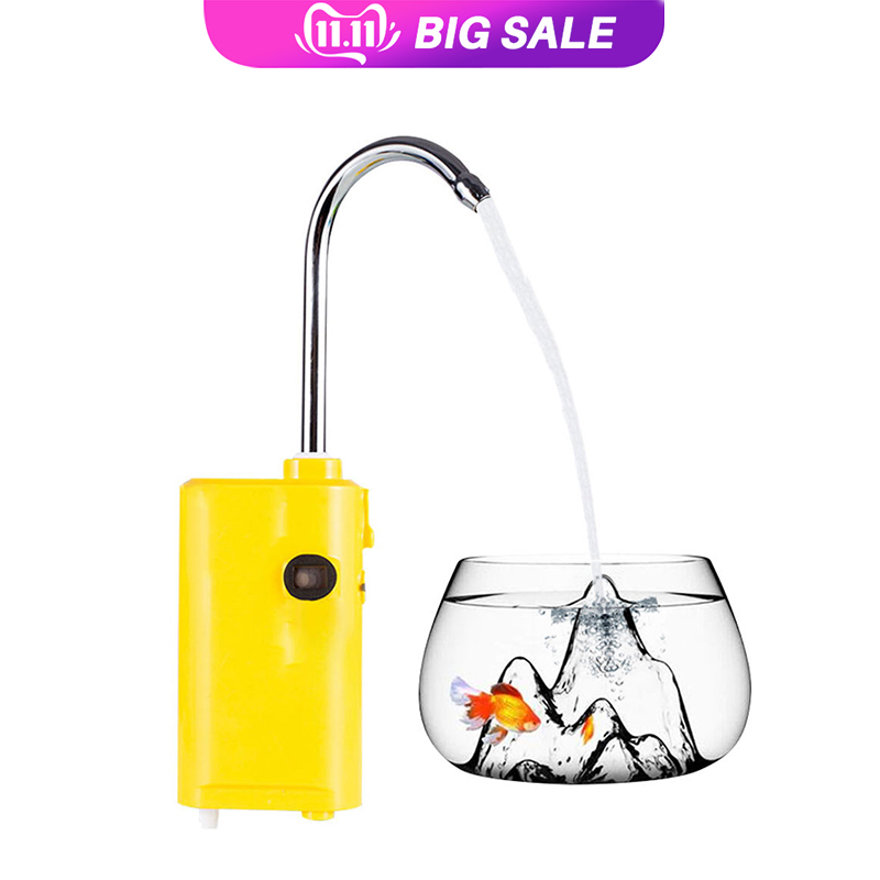 Outdoor Induction Fishing Water Dispenser Automatic Bubbles Pumping Fish Aeration Lamp fishing water Convenience
