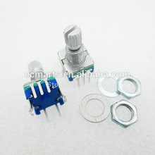 цена на Original,Rotary encoder,code switch/EC11/ digital potentiometer with switch 5Pin handle length 15mm