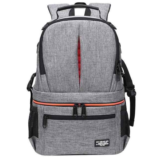 Водонепроницаемый рюкзак для DSLR камеры, рюкзак с отражающей полосой, чехол для переноски штатива для мужчин и женщин, уличные дорожные сумки для фотографии