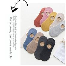 Women Socks Harajuku-Style Thin Invisible Korean Girl Pure-Cotton Shallow-Mouth Creative