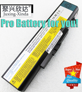 New 6 Cells Laptop Battery FOR LENOVO G580 Z380 Z380AM Y480 G480 V480 Y580 G580AM L11S6Y01 L11L6Y01 Y480P Y580NT G485A Y480M(China)