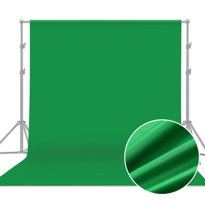 3*6M Photo Background Green Screen Photography Backdrop Polyester Cotton Black Solid Color Thicken Backdrops for Photo Studio