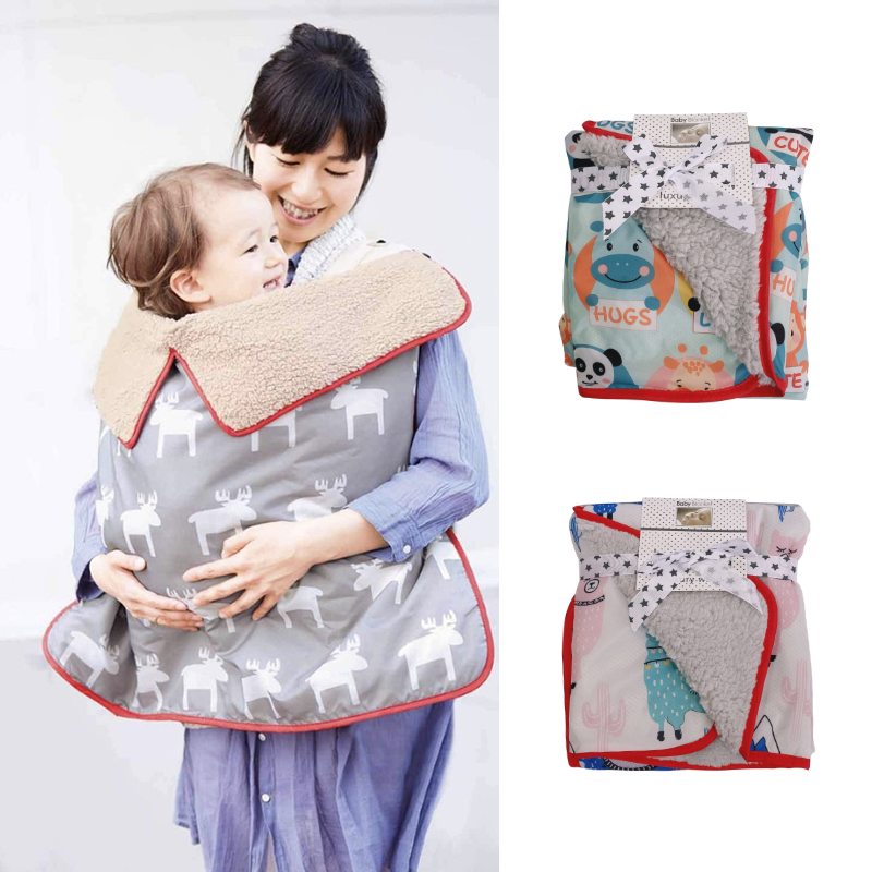 73*83cm Waterproof Windproof Baby Car Seat Canopy Cover Stroller Blanket Baby Wrap Blanket Toddler Sleeping Blanket