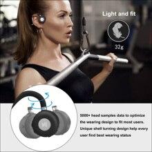 цена на 2020 New Bluetooth 5.0 Headphones Latest Bone Conduction Headset Built-in Mic Sports Earphones Bone Conduction Bluetooth Headset