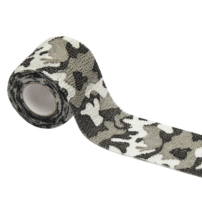 Outdoor Camouflage Non-woven Self-adhesive Elastic Bandage 5CM X 4.5M Camouflage Waterproof Multi-functional Bandage