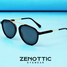 Мужские классические солнцезащитные очки zenottic поляризационные