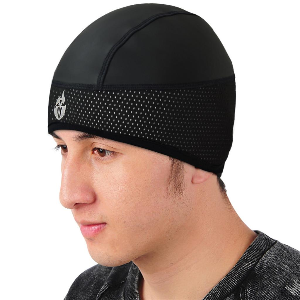 Running Helmet Liner Wind Protection Cycling Skull Cap Biking Cycling Beanie Thermal Retention
