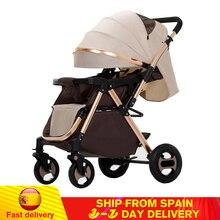 Folding Baby Stroller High Landscape Light Weight Portable Travel Pram Children Pushchair Newborn Baby Car Carriage Kids Trolley