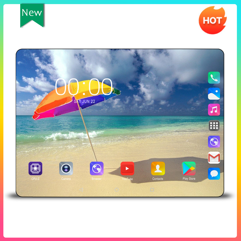 Mx960 Multi-touch Glass Screen 10 Inch Octa Core 4G FDD LTE Tablet 6GB RAM 128GB ROM Dual Cameras Android 9.0 Tablet Pc 10.1